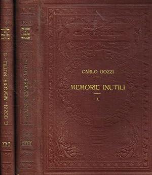 Memorie Inutili Carlo Gozzi (Venezia, 13 dicembre 1720