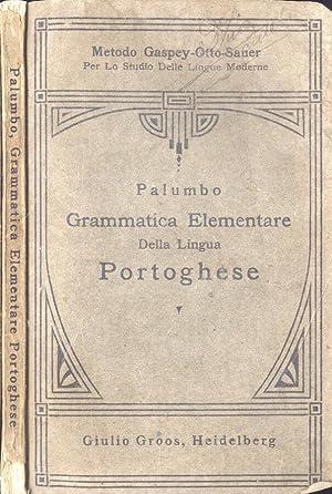 Grammatica elementare della lingua portoghese Metodo Gaspey: V. D. Palumbo