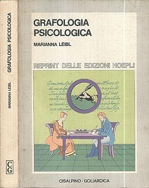Grafologia psicologica: Marianna Leibl