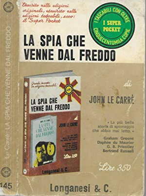 La spia che venne dal freddo: John Le Carré
