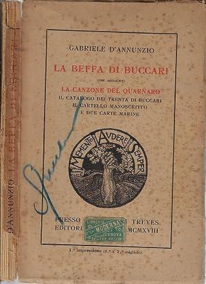 La beffa di Buccari Con aggiunti la: Gabriele D'Annunzio