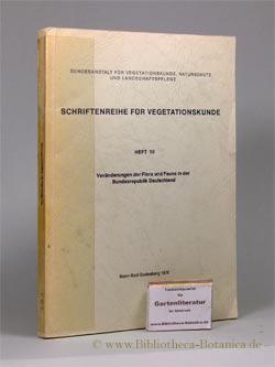 Veränderungen der Flora und Fauna in der Bundesrepublik Deutschland. Referate des gleichnamigen Symposiums, 7. - 9. Oktober 1975. - Sukopp, Herbert [Hrsg.]