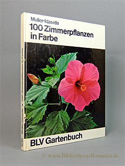 100 [hundert] Zimmerpflanzen in Farbe. Mit praktischen: Muller-Idzerda, Anna Catharina: