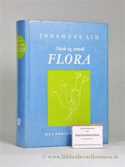 Norsk og Svensk Flora.: Lid, Johannes: