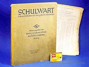 Schulwart. Lehrmittelführer für das gesamte Schulwesen.: Koehler & Volckmar