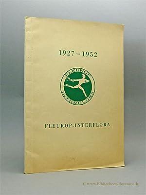 25 Jahre Fleurop-Interflora 1927 - 1952.: Ehrhardt, Georges [Vorw.]: