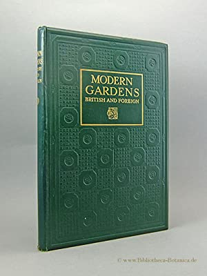Modern Gardens British and foreign.: Cane, Percy S.: