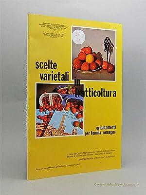 Giornata sulle : Scelte varietali in frutticoltura.: Lunati, U./S. Sansavini