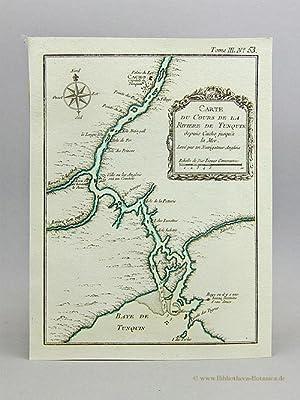 Carte du Cours de la Rivière de: Bellin, Jacques Nicolas:
