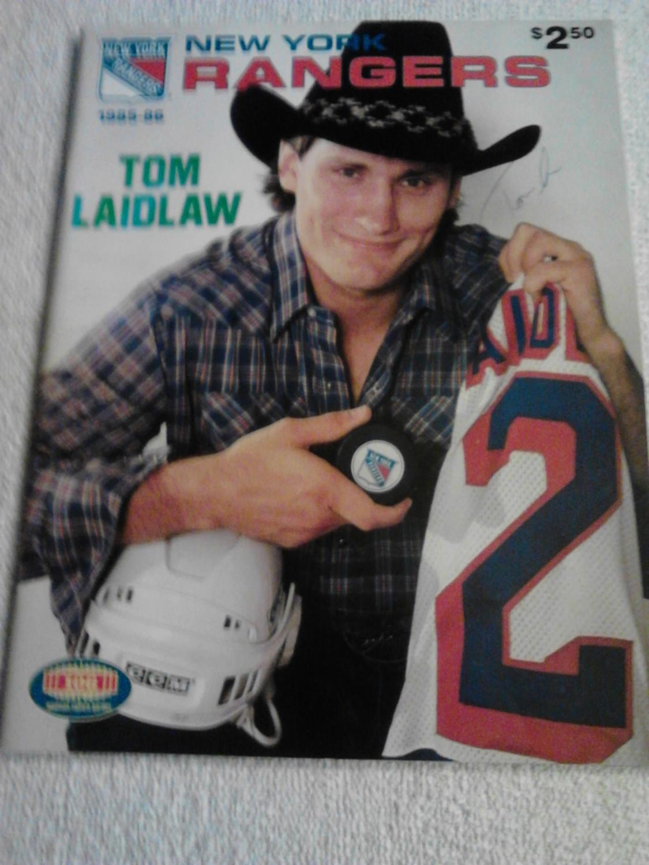 pretty nice 4aaa7 59aac New York Rangers Scorebook; Vol. LX, No. 1, ...
