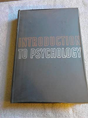 Introduction to Psychology: Morgan, Clifford T.