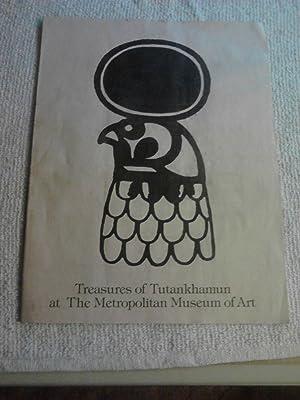 Treasures of Tutankhamun at The Metropolitan Museum: William J. Williams,