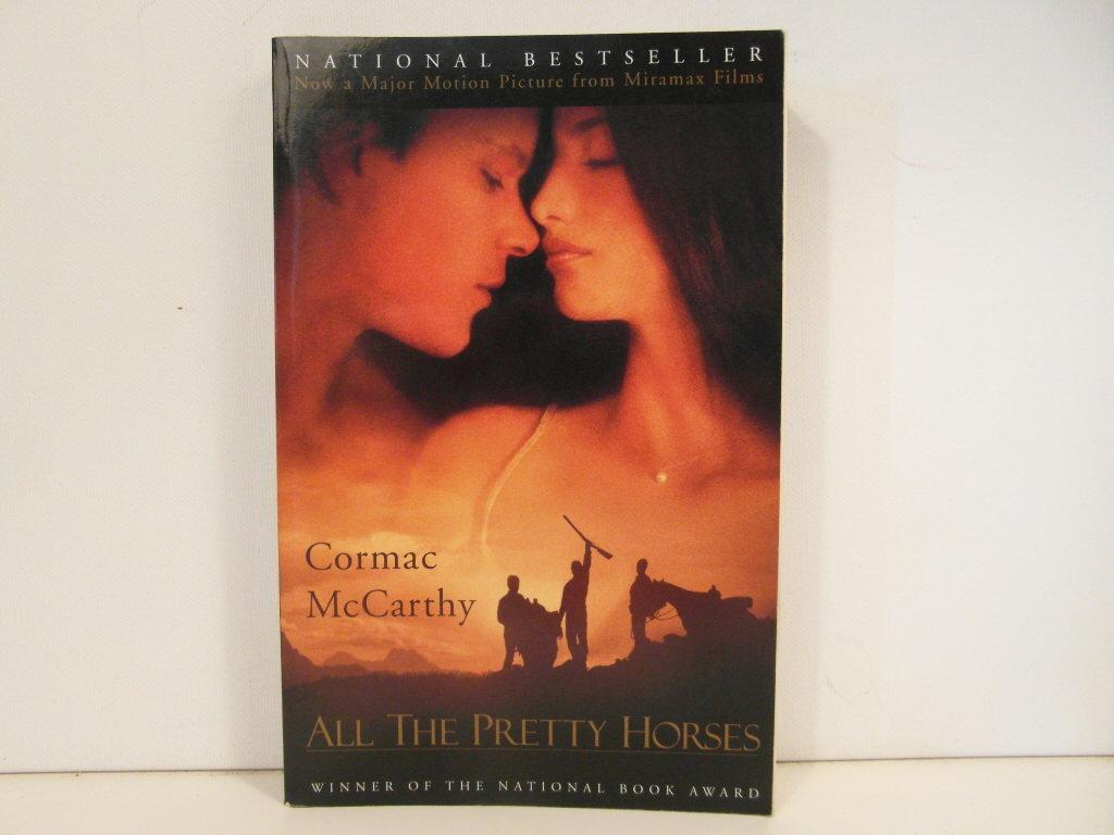 all the pretty horses by cormac mccarthy first edition