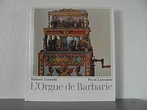 L'Orgue de Barbarie: Zeraschi Helmut