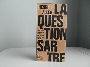La Question suivi de Une victoire: Alleg Henri/Sartre Jean-Paul