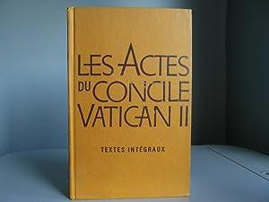 Les Actes du Concile Vatican II: Collectif