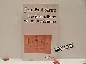L'existentialisme est un humanisme: Sartre Jean-Paul