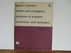 Gammes et arpèges pour piano 2: Drzewiecki, Ekier, Hoffman,