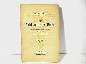 Sept Dialogues de Bêtes: Colette Willy