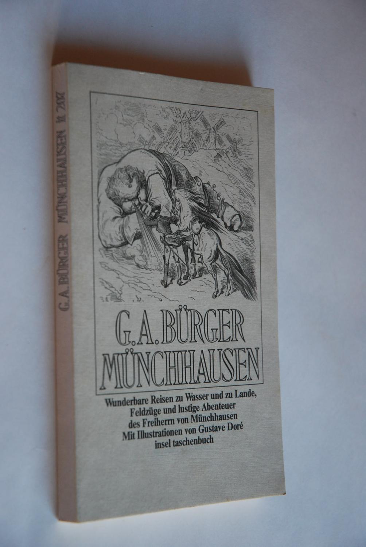 Wunderbare Reisen zu Wasser und zu Lande,: Bürger, Gottfried August