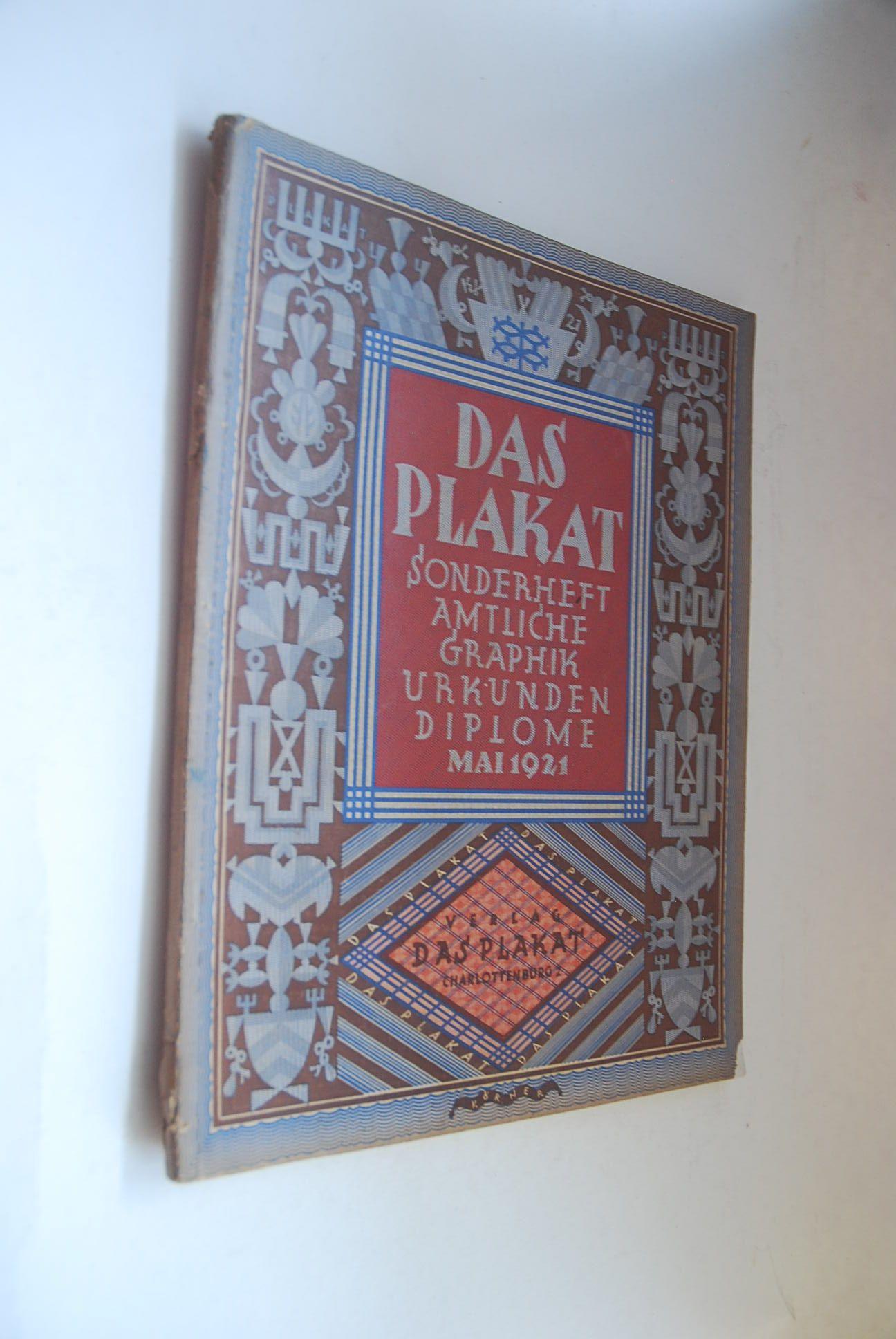 das plakat sonderheft von hans - ZVAB