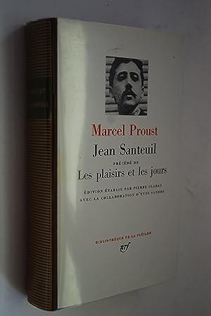 Jean Santeuil precede de Les plaisirs et: Proust, Marcel: