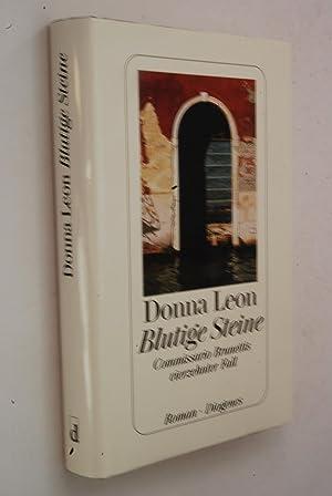 Blutige Steine : Commissario Brunettis vierzehnter Fall: Leon, Donna: