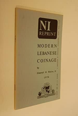 Modern Lebanese Coinage. NI Reprint: Hulse, Granvyl G.: