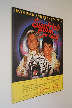 Siegfried & Roy Superstars of Magic in Beyound Belief an amazing spectacle Souvenir Programnn, Co...