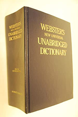 Webster`s New Universal Unabridged Dictionary. Illustrationen von: Webster, Noah and