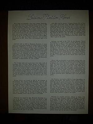 Louisiana Plantation Homes: A Portfolio: Gleason, David King