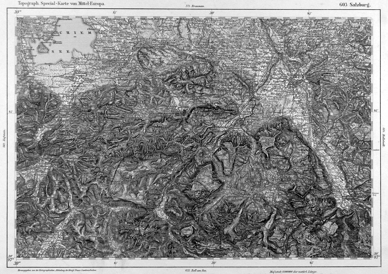 Chiemsee Karte.Chiemsee Karte Karte Mit Dem Chiemsee Im