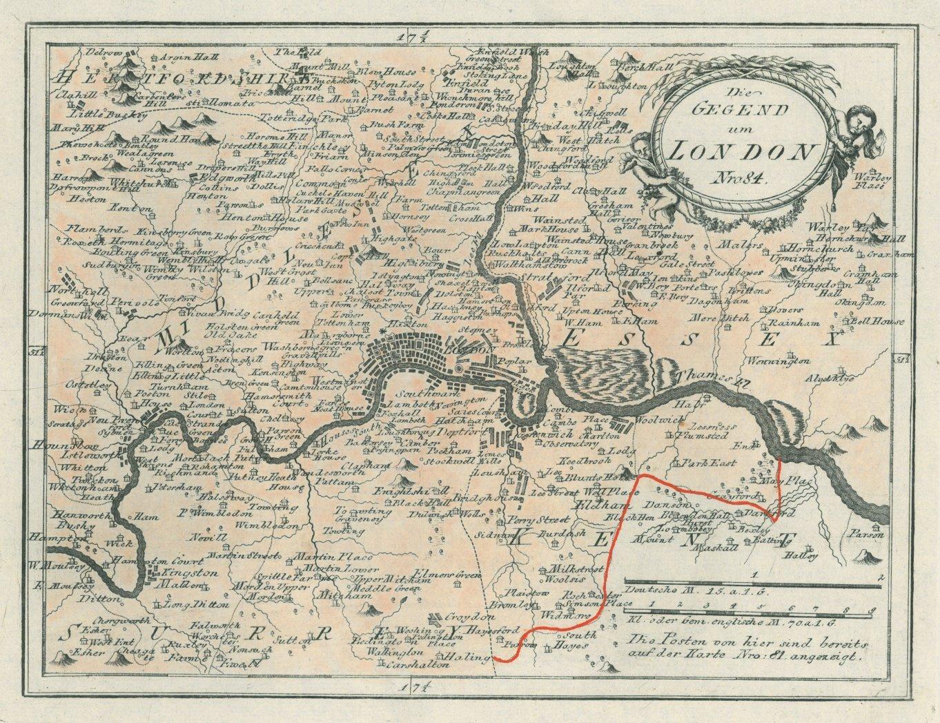 Karte London.London Karte