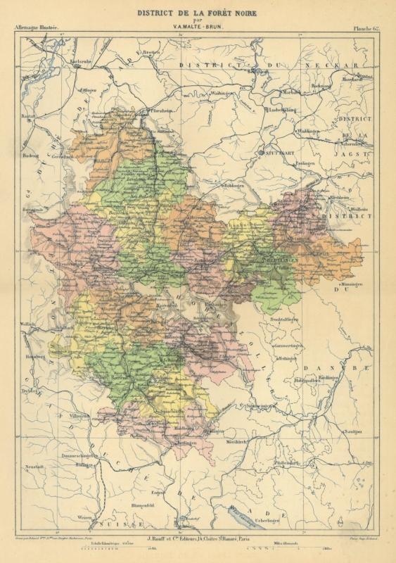 Pforzheim Karte.Schwarzwaldkreis Karte