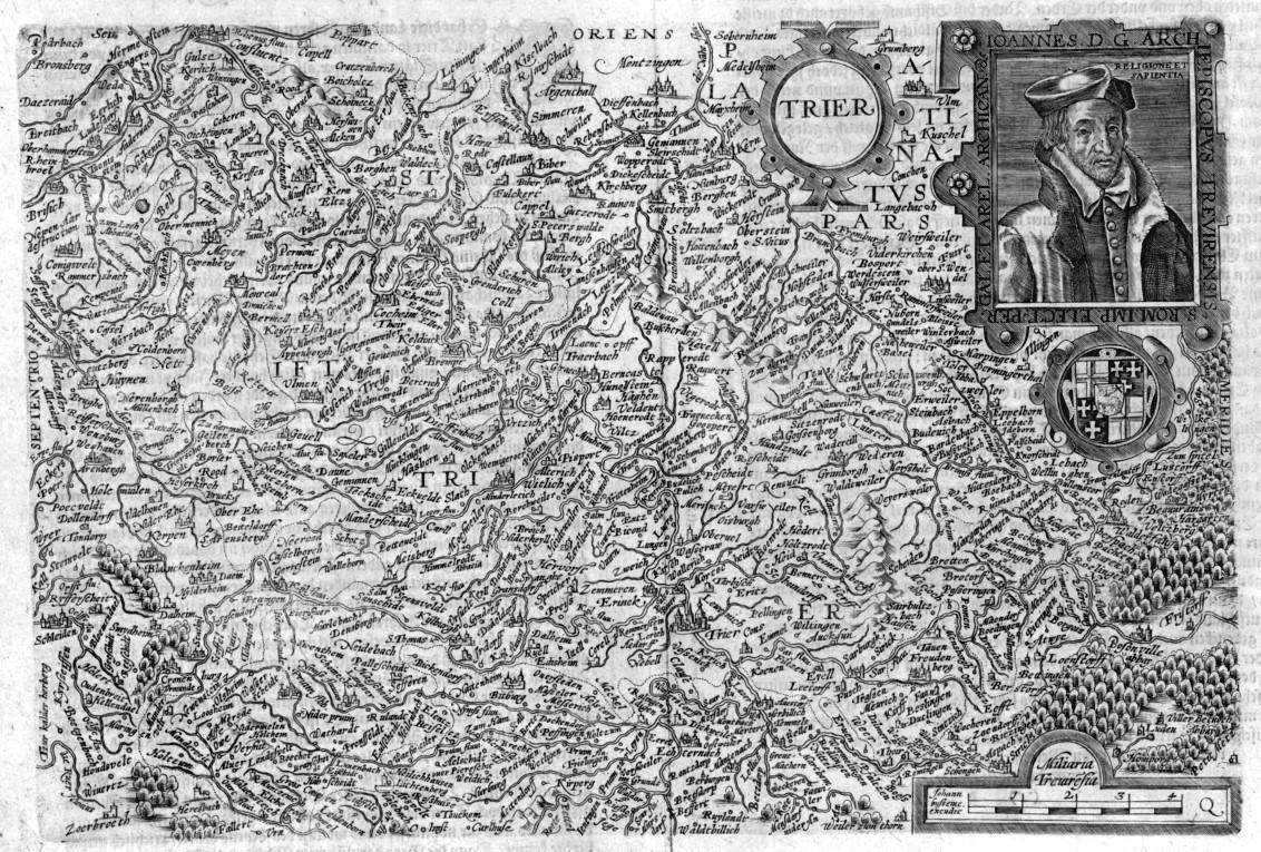 Bistum Trier Karte.Trier Karte Trier Zvab