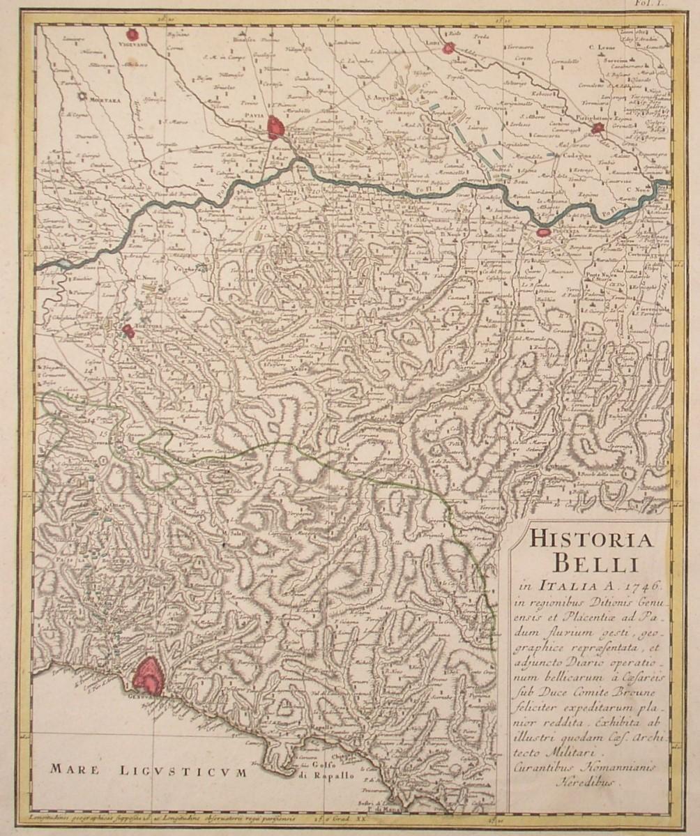 Norditalien Karte.Italien Norditalien Karte