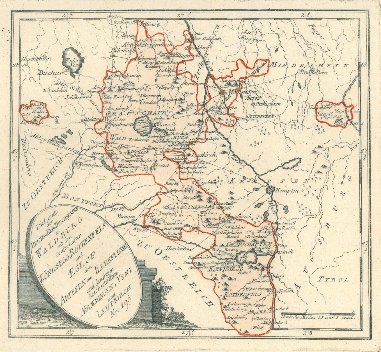 Vialibri Waldburg Bei Ravensburg Karte Die Lande Der Reichs