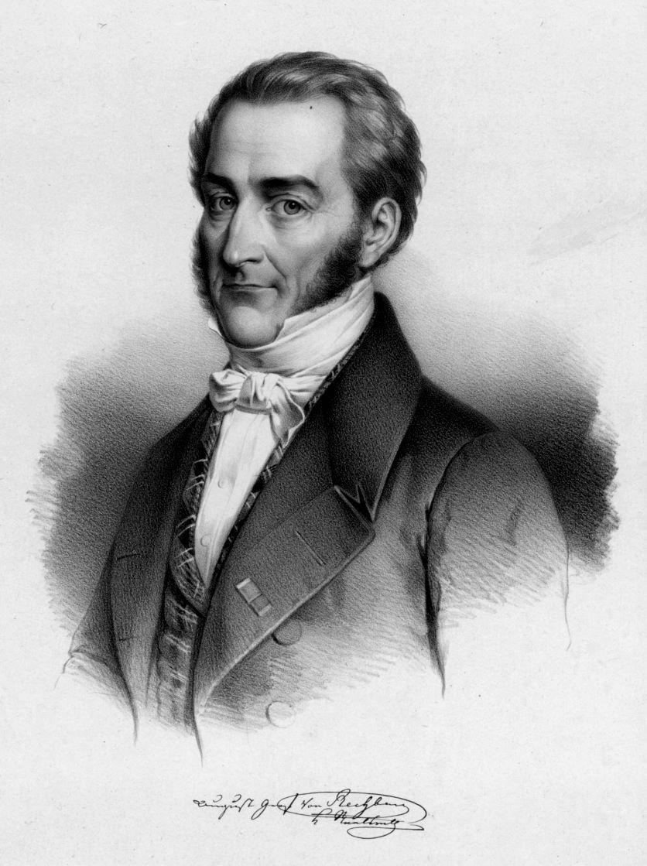 RECHBERG-ROTHENLÖWEN, August Graf von (1783 - 1846).
