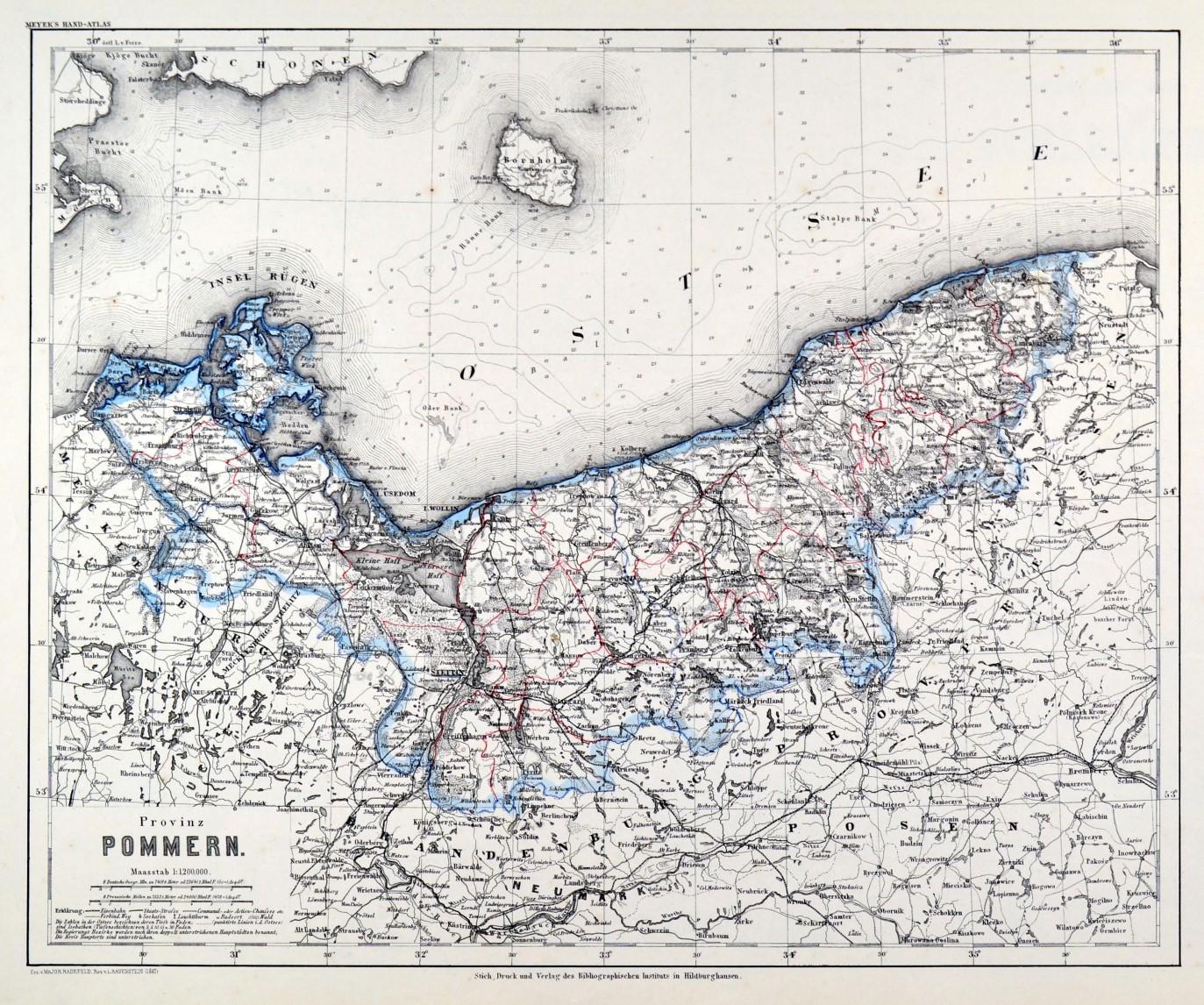 Pommern Karte Provinz Pommern Kunst Nbsp Nbsp