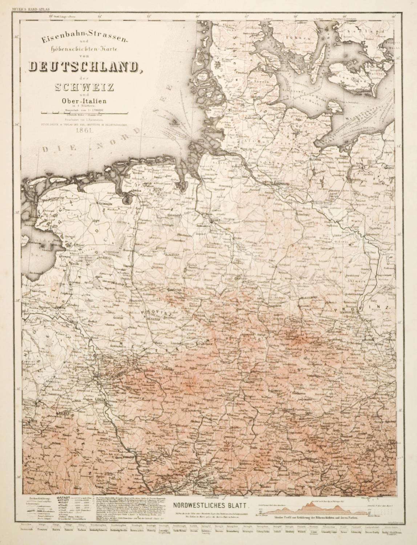Vialibri Deutschland Eisenbahn Karte Eisenbahn