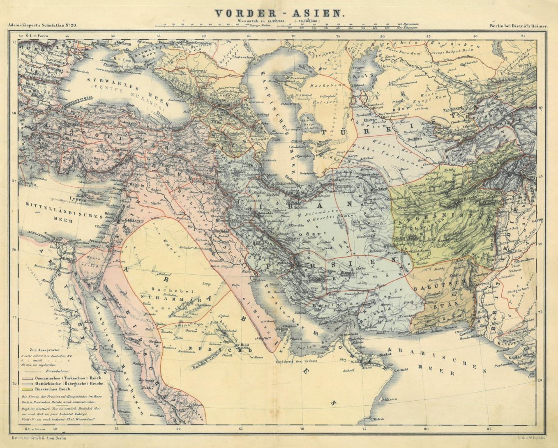 Persien Karte.Persien Karte Persien Zvab