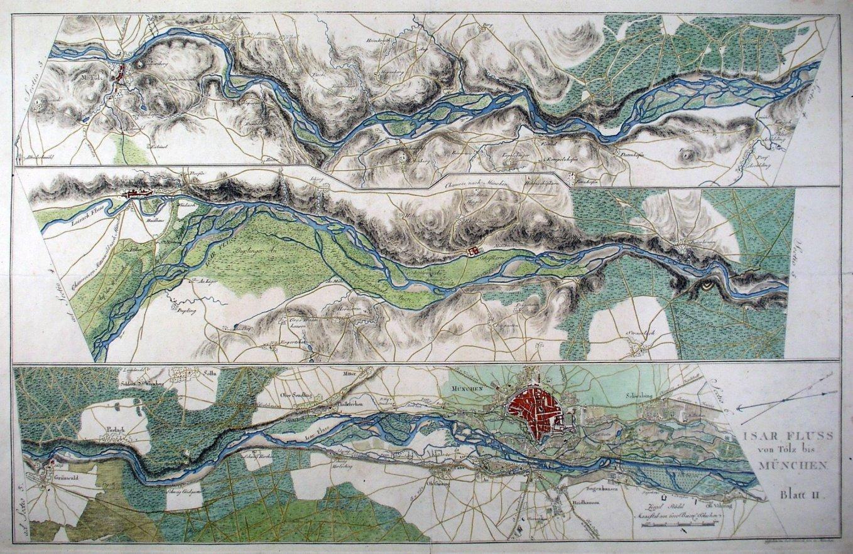 Isar Fluss Karte.Isar Karte Isar Fluss Von Der