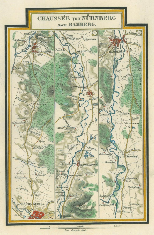 Karte Bamberg.Nurnberg Bamberg Karte