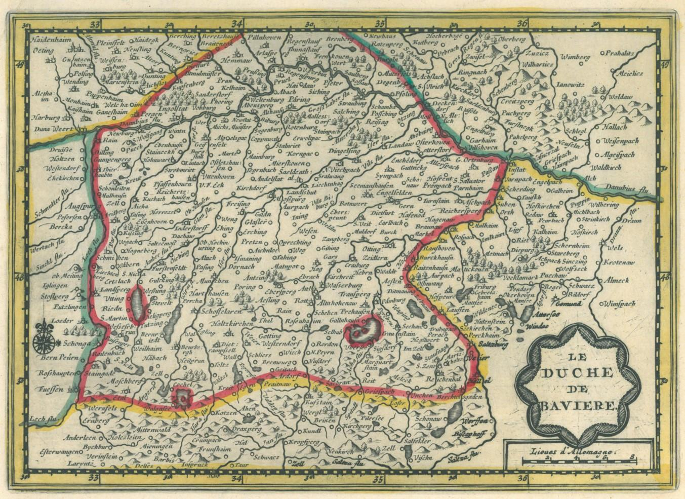 Karte Oberbayern.Oberbayern Karte Des Zvab