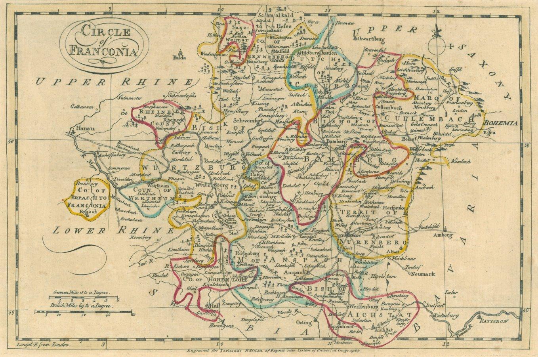 franken karte FRANKEN.   Karte.