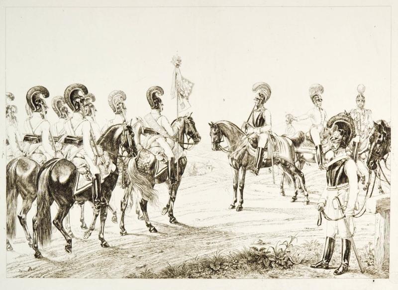 "JOHANN ADAM KLEIN (1792 - 1875). ""K.K."