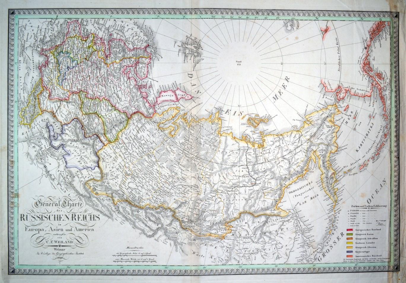 Karte Europa Asien.Russland Karte