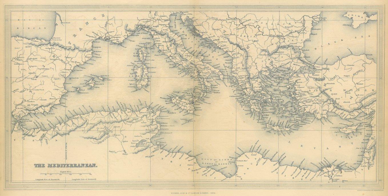 Mittelmeer Karte Europa.Europa Mittelmeer Karte