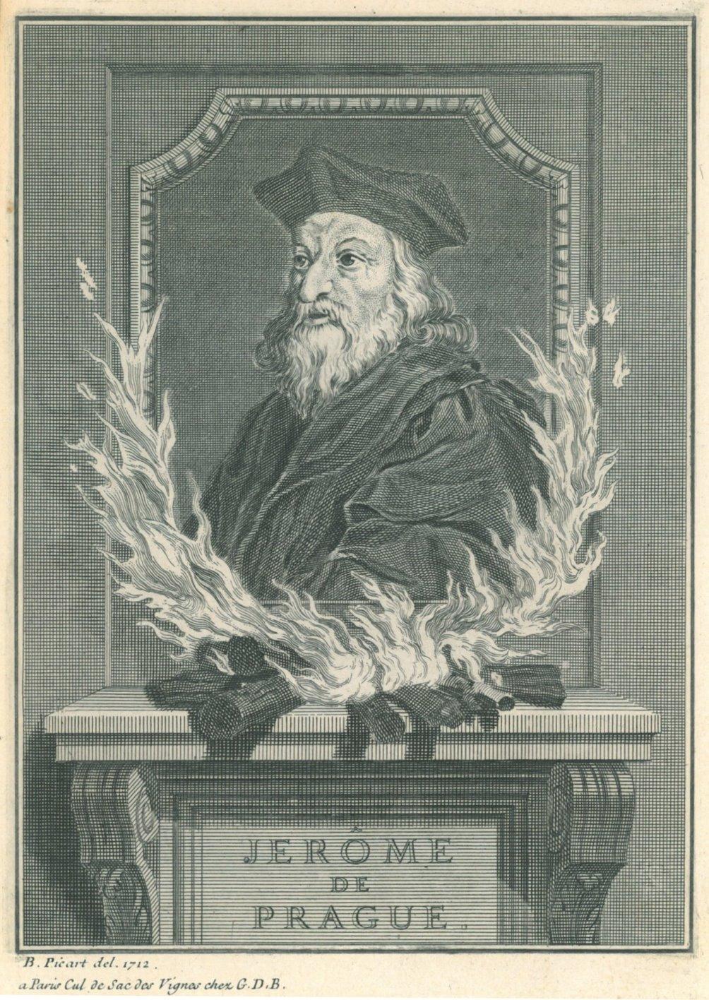 HIERONYMUS VON PRAG (verbrannt 1416). \