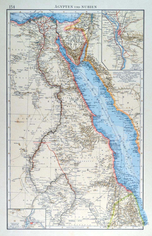 Karte Von ägypten.ägypten Karte
